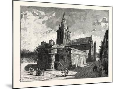 The Church of Notre Dame Calais--Mounted Giclee Print