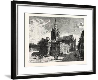 The Church of Notre Dame Calais--Framed Giclee Print