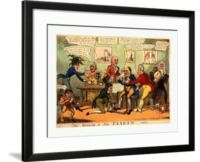 The Blessing of New Taxes!!!--Framed Giclee Print