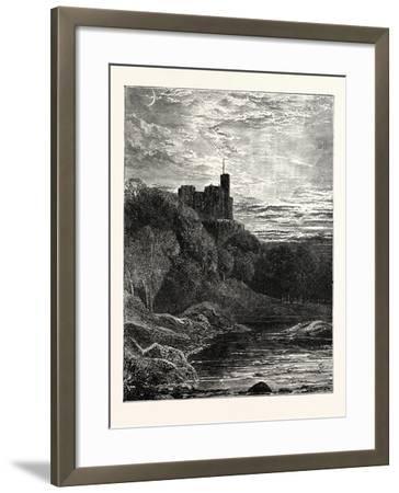 Norham Castle Northumberland--Framed Giclee Print