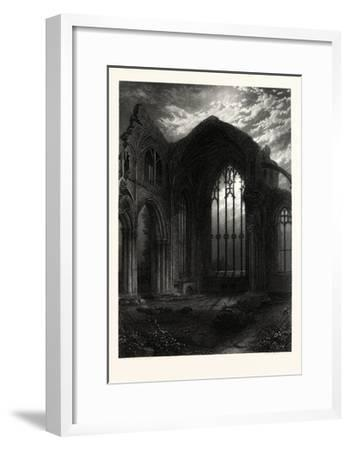 Melrose Abbey, UK--Framed Giclee Print