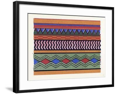 Egyptian Ornament--Framed Giclee Print