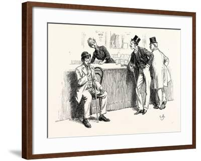 Called to the Bar--Framed Giclee Print