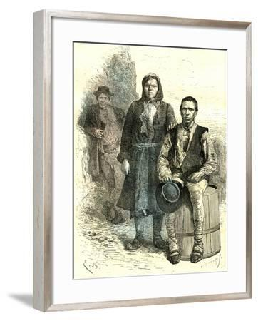 Cici, Italy, 19th Century--Framed Giclee Print