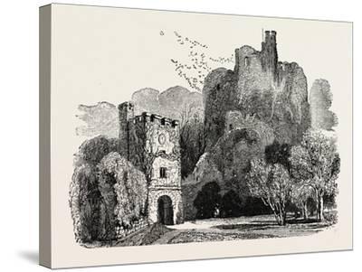 Ruins of Arundel Castle--Stretched Canvas Print