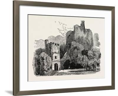 Ruins of Arundel Castle--Framed Giclee Print