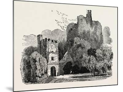 Ruins of Arundel Castle--Mounted Giclee Print