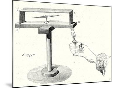 Seebeck's Experiment--Mounted Giclee Print