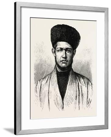 A Tartar of Kuldja--Framed Giclee Print