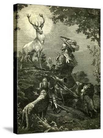 St. Hubertus Austria 1891--Stretched Canvas Print