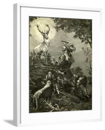 St. Hubertus Austria 1891--Framed Giclee Print