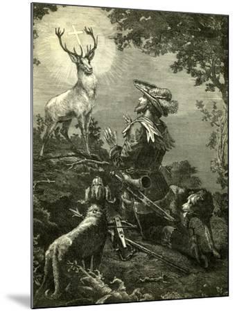 St. Hubertus Austria 1891--Mounted Giclee Print