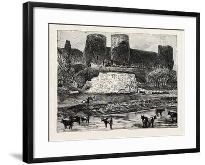 Rhuddlan Castle--Framed Giclee Print