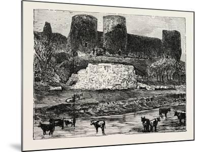 Rhuddlan Castle--Mounted Giclee Print