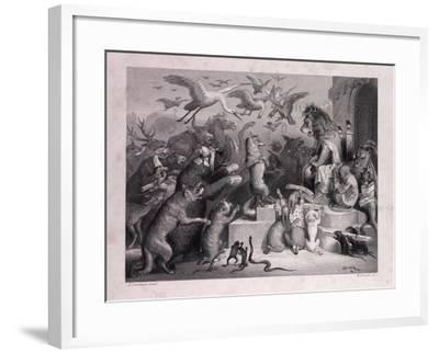 Reynard's Trial--Framed Giclee Print
