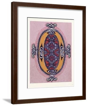 Celtic Ornament--Framed Giclee Print
