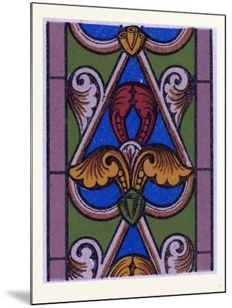 Medieval Ornament--Mounted Giclee Print