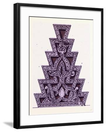 Arabian Ornament--Framed Giclee Print