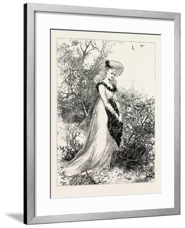 Wild Flowers--Framed Giclee Print