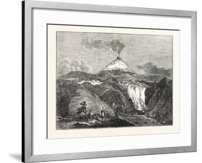 Mount Hecla--Framed Giclee Print