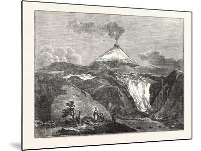 Mount Hecla--Mounted Giclee Print