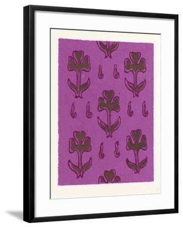 Persian Ornament--Framed Giclee Print