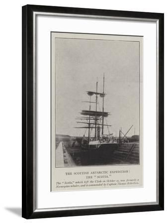 The Scottish Antarctic Expedition, the Scotia--Framed Giclee Print