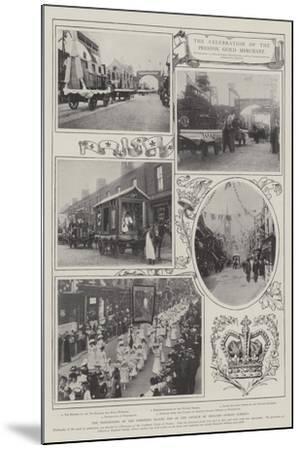 The Celebration of the Preston Guild Merchant--Mounted Giclee Print
