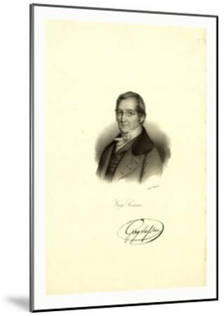 Gay-Lussac--Mounted Giclee Print