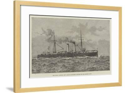 The Royal Arthur, New Armour-Protected Cruiser for the British Navy--Framed Giclee Print