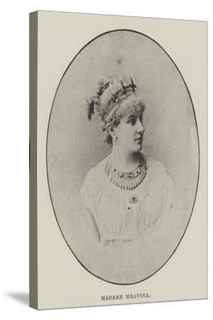 Madame Mravina--Stretched Canvas Print