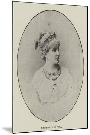 Madame Mravina--Mounted Giclee Print