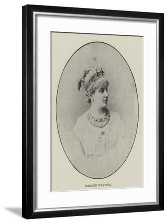 Madame Mravina--Framed Giclee Print