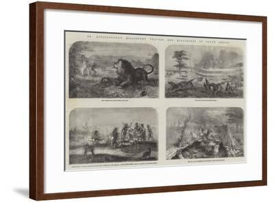 Dr Livingstone's Missionary Travels and Researches in South Africa--Framed Giclee Print