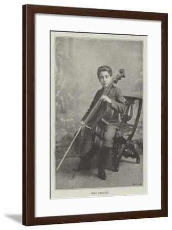 Jean Gerardy--Framed Giclee Print