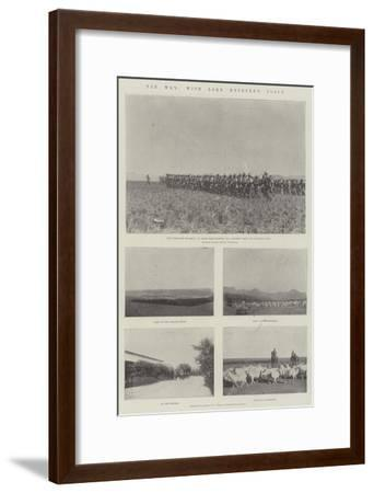 The War, with Lord Methuen's Force--Framed Giclee Print