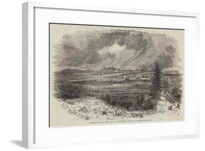 General View of the Camp at Aldershott, from the Farnborough Road--Framed Giclee Print