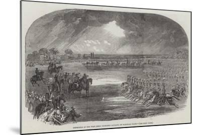 Inspection of the West Essex Yeomanry Cavalry, on Wanstead Flats--Mounted Giclee Print