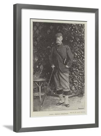 Hrh Prince Christian--Framed Giclee Print