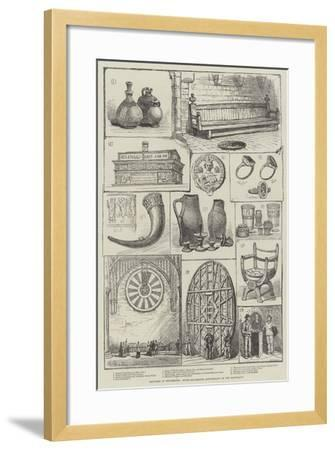 Sketches at Winchester, Seven-Hundredth Anniversary of the Mayoralty--Framed Giclee Print