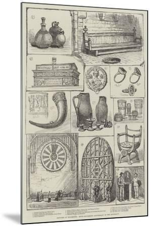 Sketches at Winchester, Seven-Hundredth Anniversary of the Mayoralty--Mounted Giclee Print