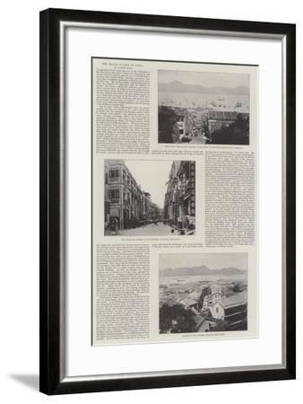 The Black Plague in China--Framed Giclee Print