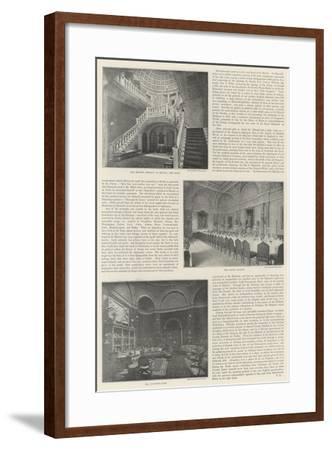 British Embassy in Berlin--Framed Giclee Print
