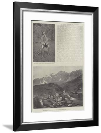The Emperor of Austria as a Sportsman--Framed Giclee Print