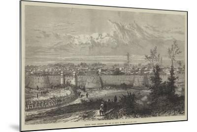 Russian Troops Entering the City of Khiva at the Hazar-Asp Gate--Mounted Giclee Print