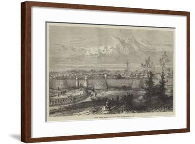 Russian Troops Entering the City of Khiva at the Hazar-Asp Gate--Framed Giclee Print