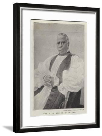 The Late Bishop Crowther--Framed Giclee Print