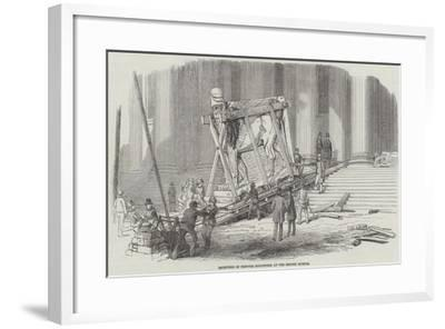 Reception of Nineveh Sculptures at the British Museum--Framed Giclee Print