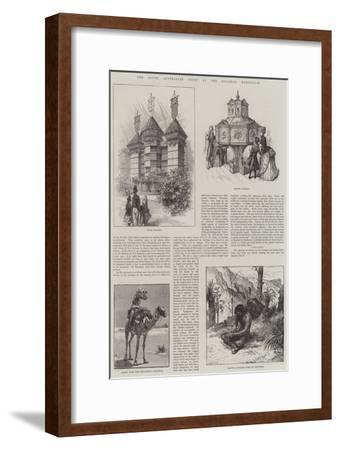 The South Australian Court at the Colonial Exhibition--Framed Giclee Print