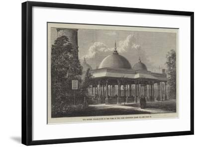 The British Boiler-House in the Park of the Paris Exhibition--Framed Giclee Print